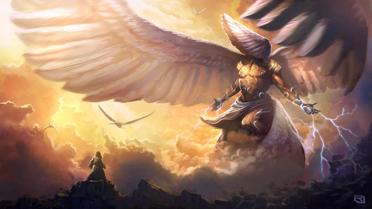 Los Ángeles Caídos y los Nephilim, explicado en el libro escrito por el abuelo de Noé