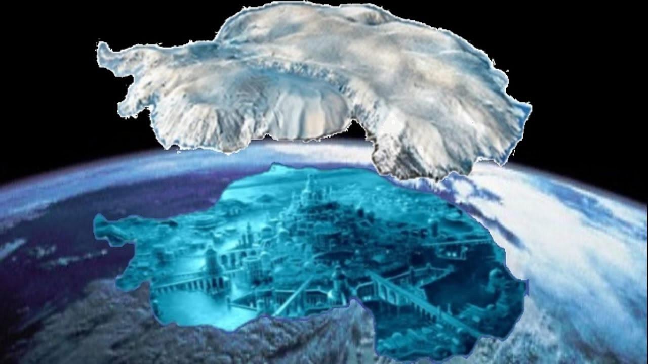 ¿Está la Atlántida bajo el hielo de la Antártida? El Gran Secreto de la Élite