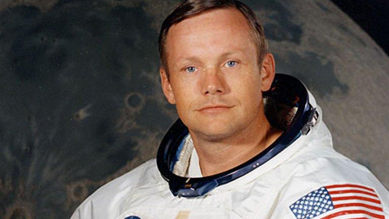 Neil Armstrong en julio de 1969.