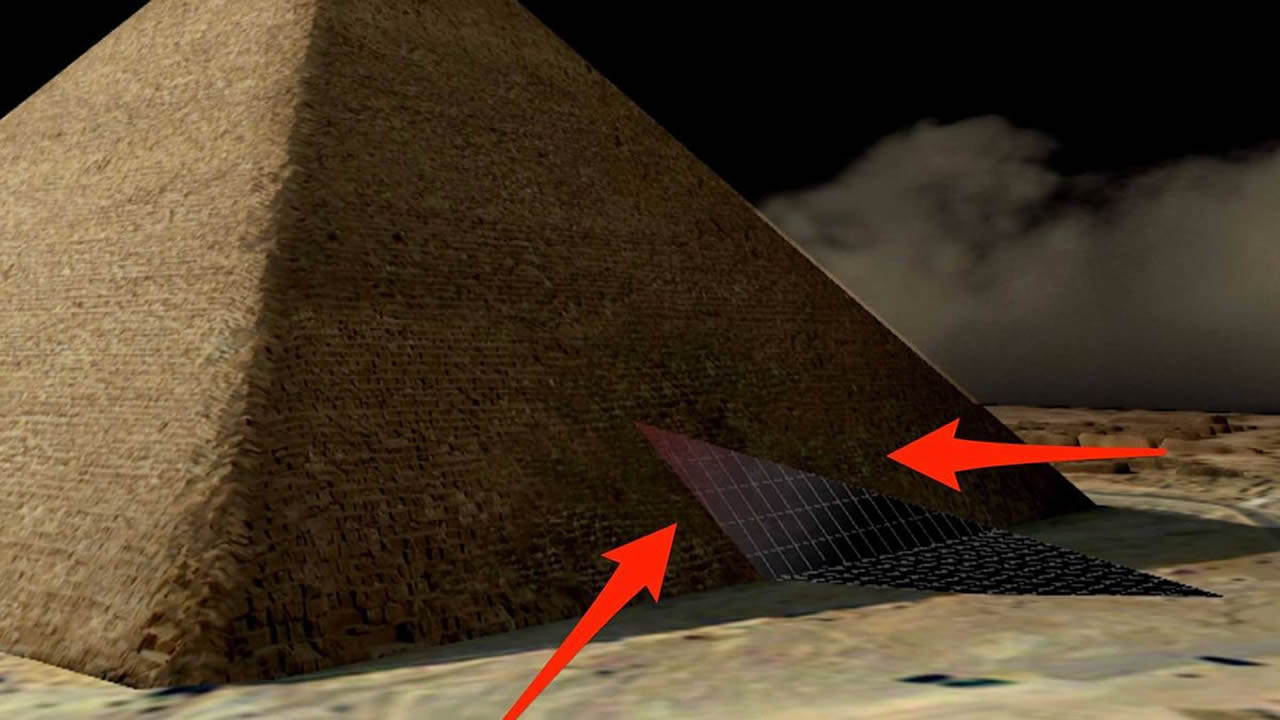 Más cámaras ocultas en la Gran Pirámide