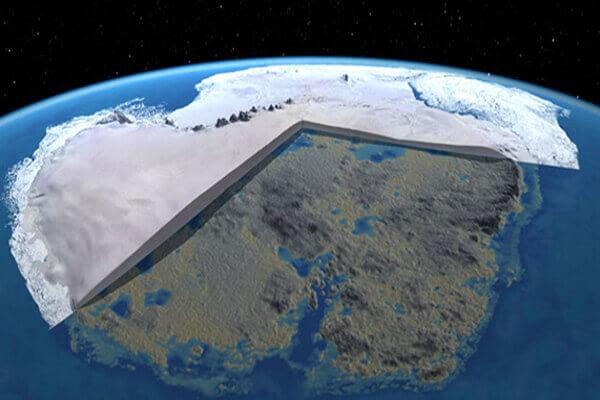 ¿Por qué esta antigua porción de tierra con clima tropical fue cubierta de hielo?