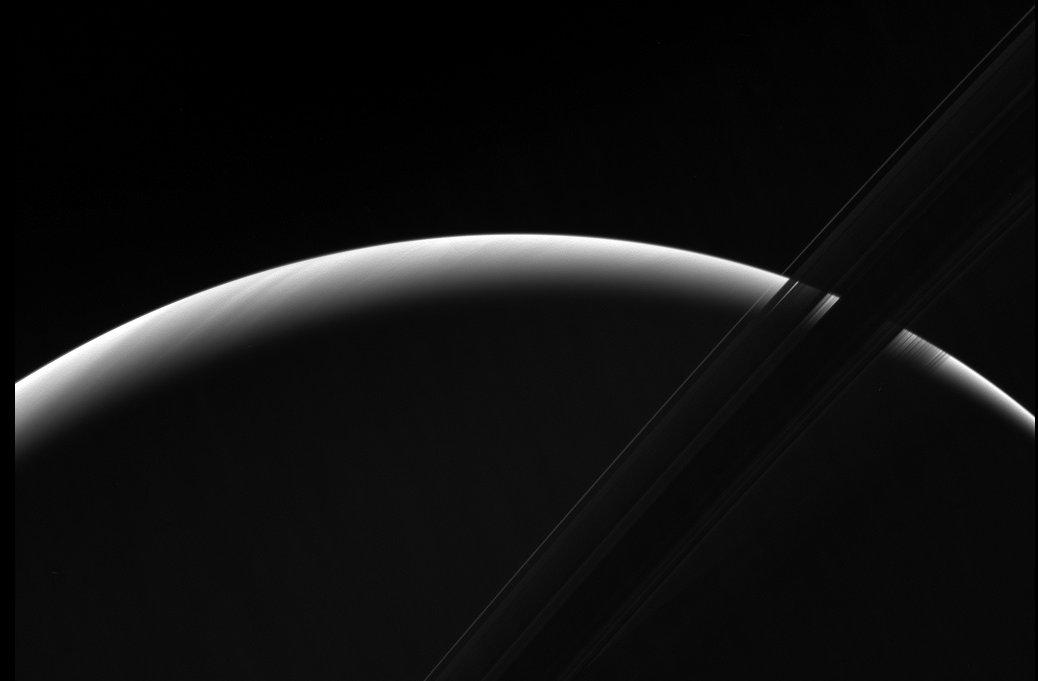 Amanecer en Saturno