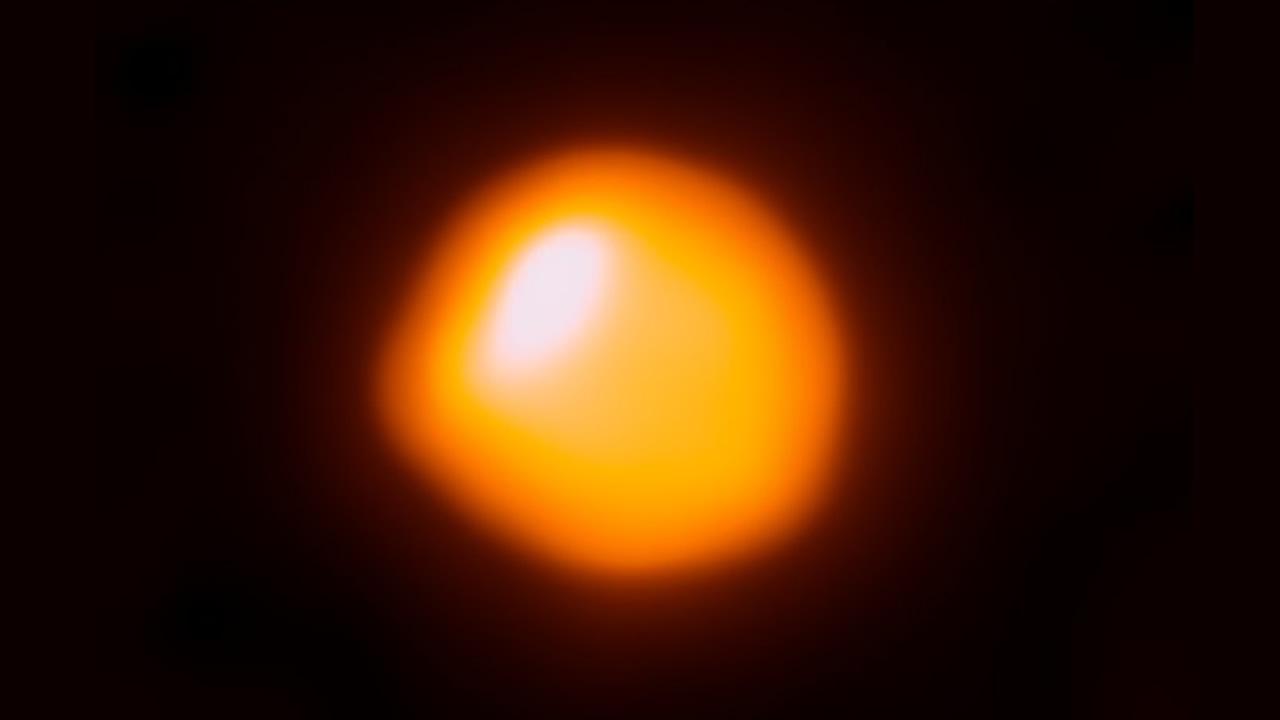 Logran capturar la imagen más detallada de una estrella 1.400 veces más grande que el Sol