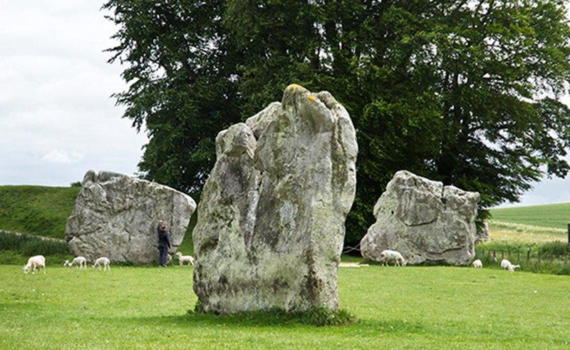 Círculo de piedras de Avebury.