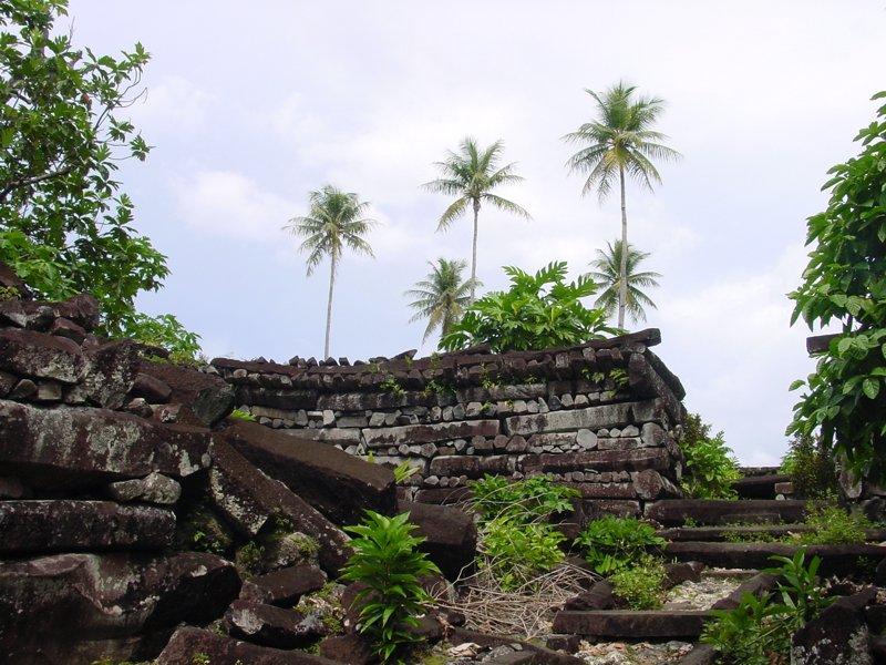 Ruinas de la ciudad de Nan Madol (Ponape)