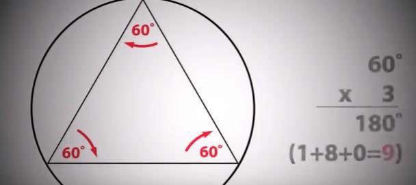 Nueve – la suma de los ángulos internos da siempre nueve.