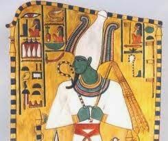 Representación del dios Osiris