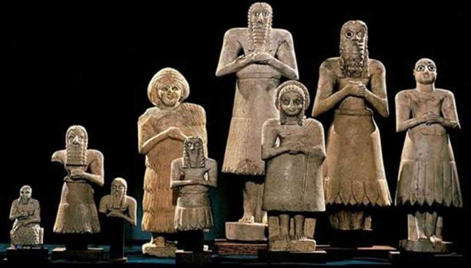 El panteón sumerio