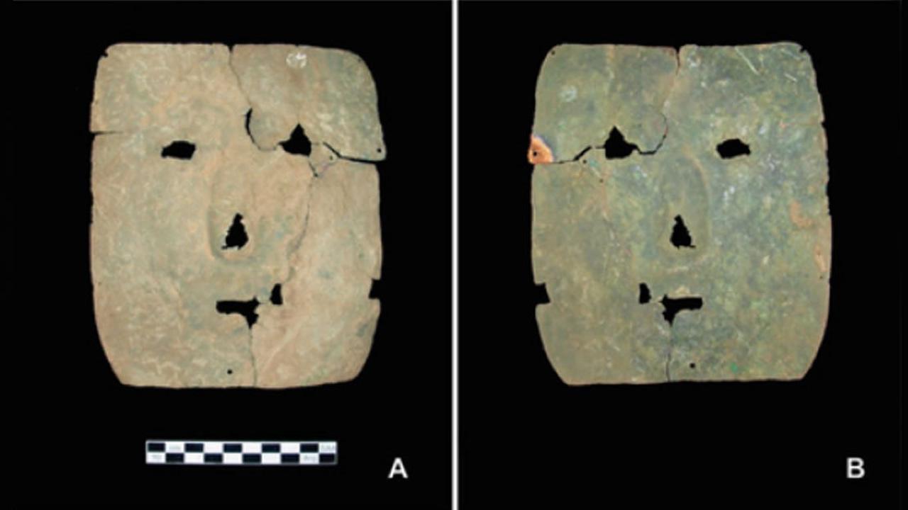 Máscara de cobre de hace 3.000 años hallada en Argentina reescribe la historia de la metalurgia en Sudamérica
