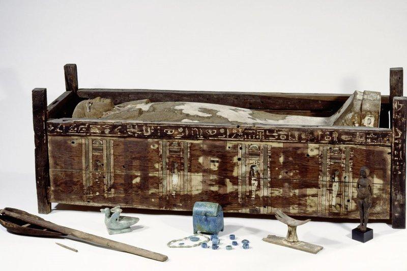 Sarcófago de Tadja, Abusir el-Meleq.