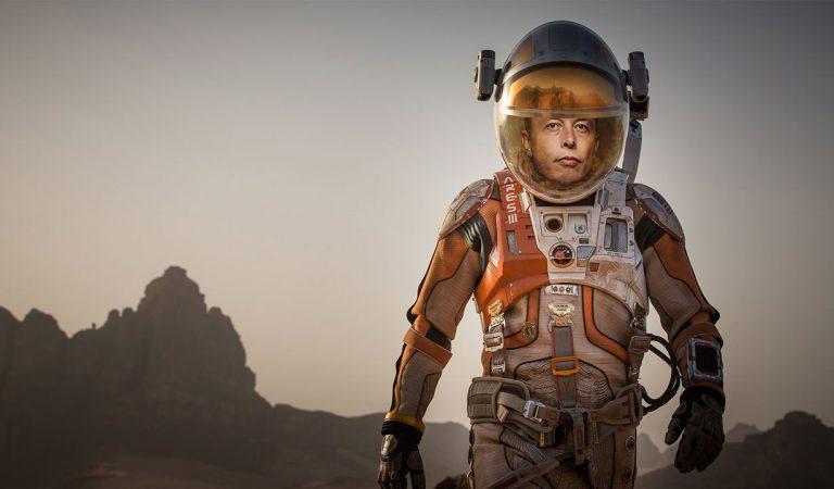 Hace 25 años alguien escribió que colonizaríamos Marte dirigidos por una persona llamada Elon