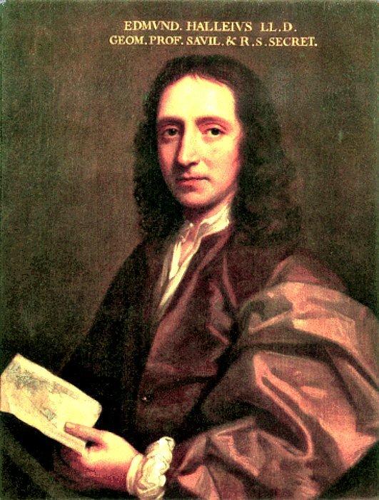 Edmund Halley fue uno de los defensores más célebres de la Teoría de la Tierra Hueca