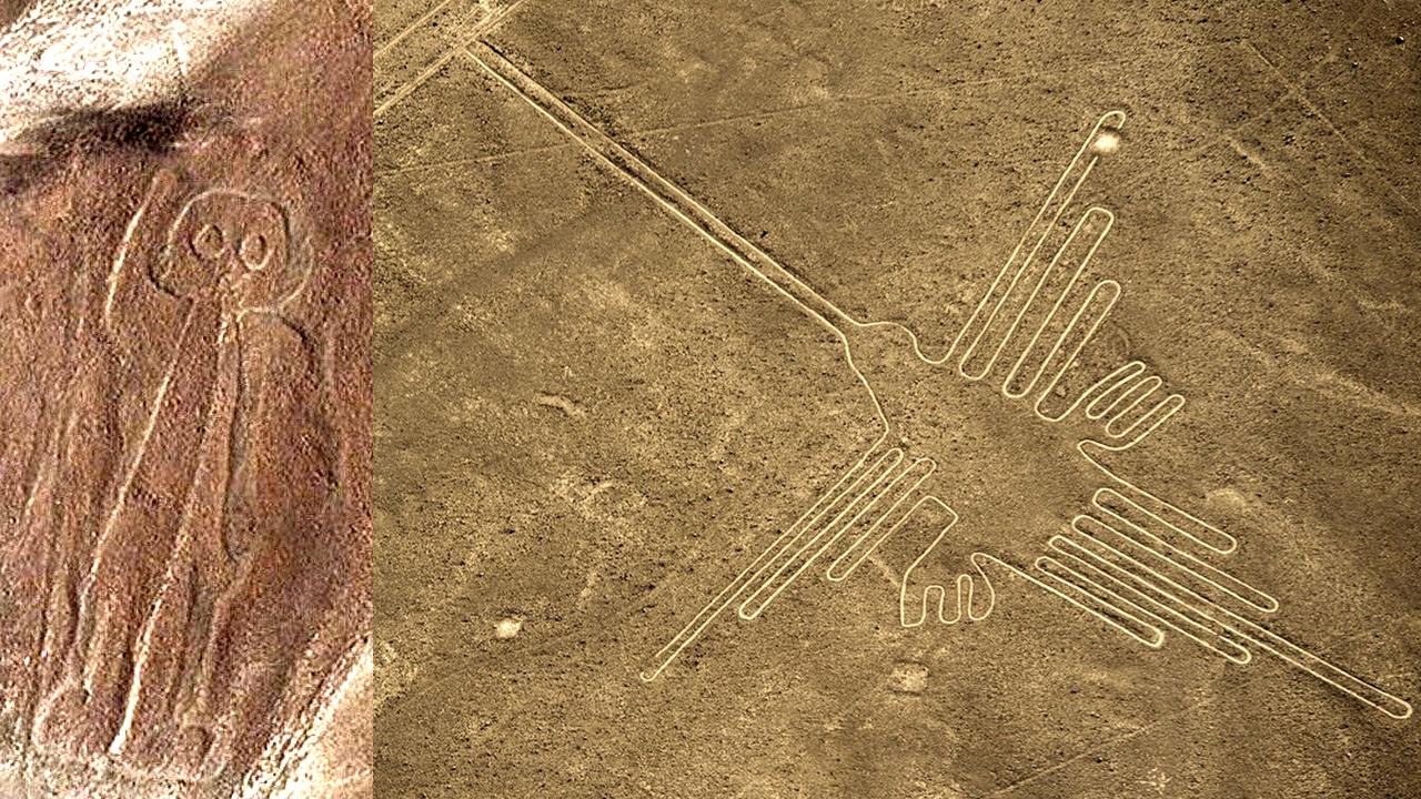 Imágenes satelitales revalan el secreto de las Líneas de Nasca en Perú