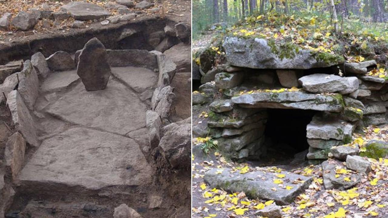 Los espectaculares megalitos antiguos de los montes Urales