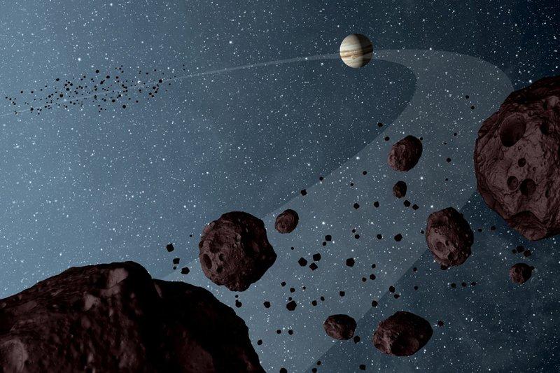 Un planeta con anillos conformados por asteroides podría ser el causante del oscurecimiento de la estrella de Tabby, según el nuevo estudio.