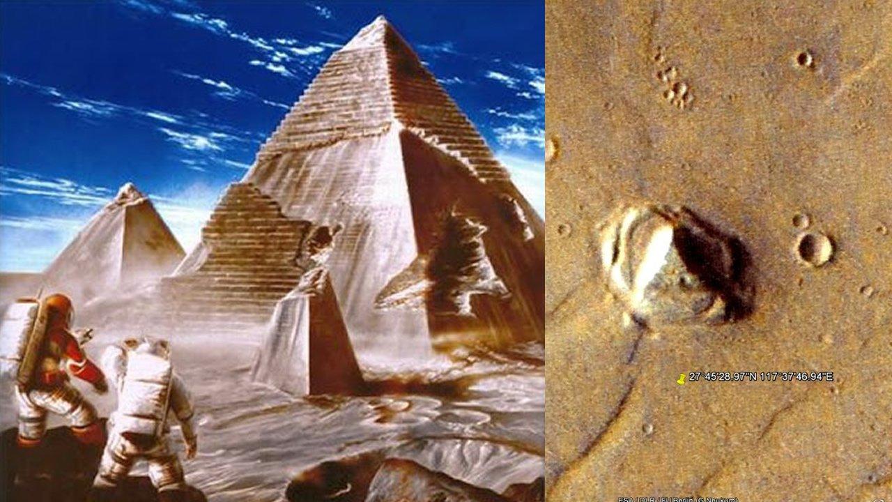 ¿Por qué hay tantas Pirámides en Marte y en la Luna? Una misma raza colonizó el Sistema Solar