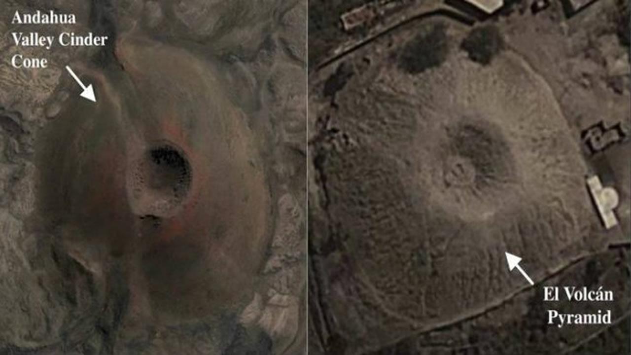 Hallan misteriosa Pirámide con forma de Volcán en Perú