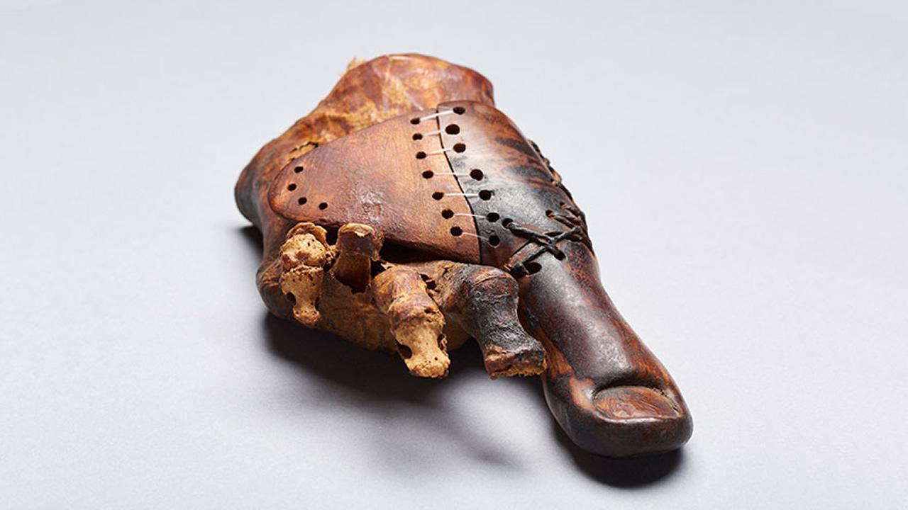 Una magnífica prótesis creada en el antiguo Egipto vuelve a intrigar a los investigadores