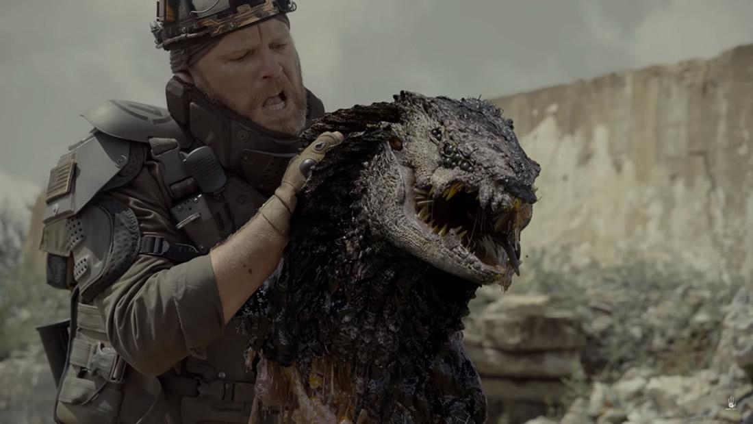 Rakka: El cortometraje que muestra una invasión reptiliana y la casi extinción de la humanidad