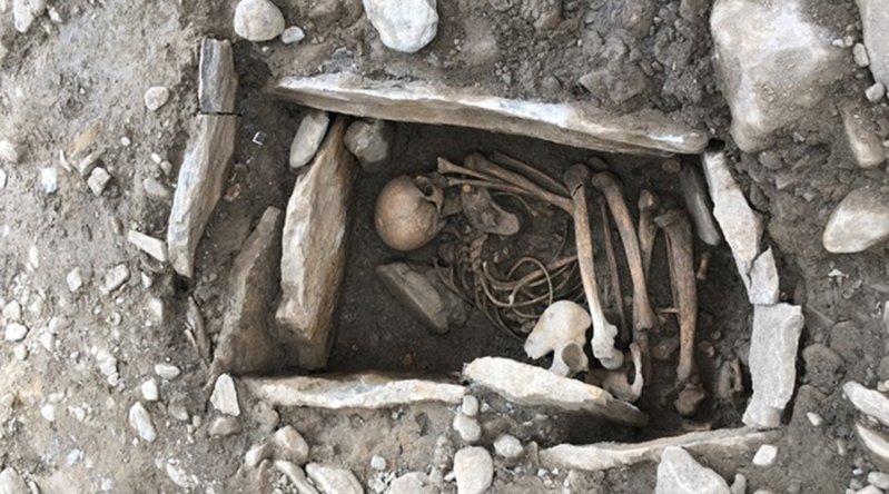 Restos encontrados pertenecientes al Neolítico.