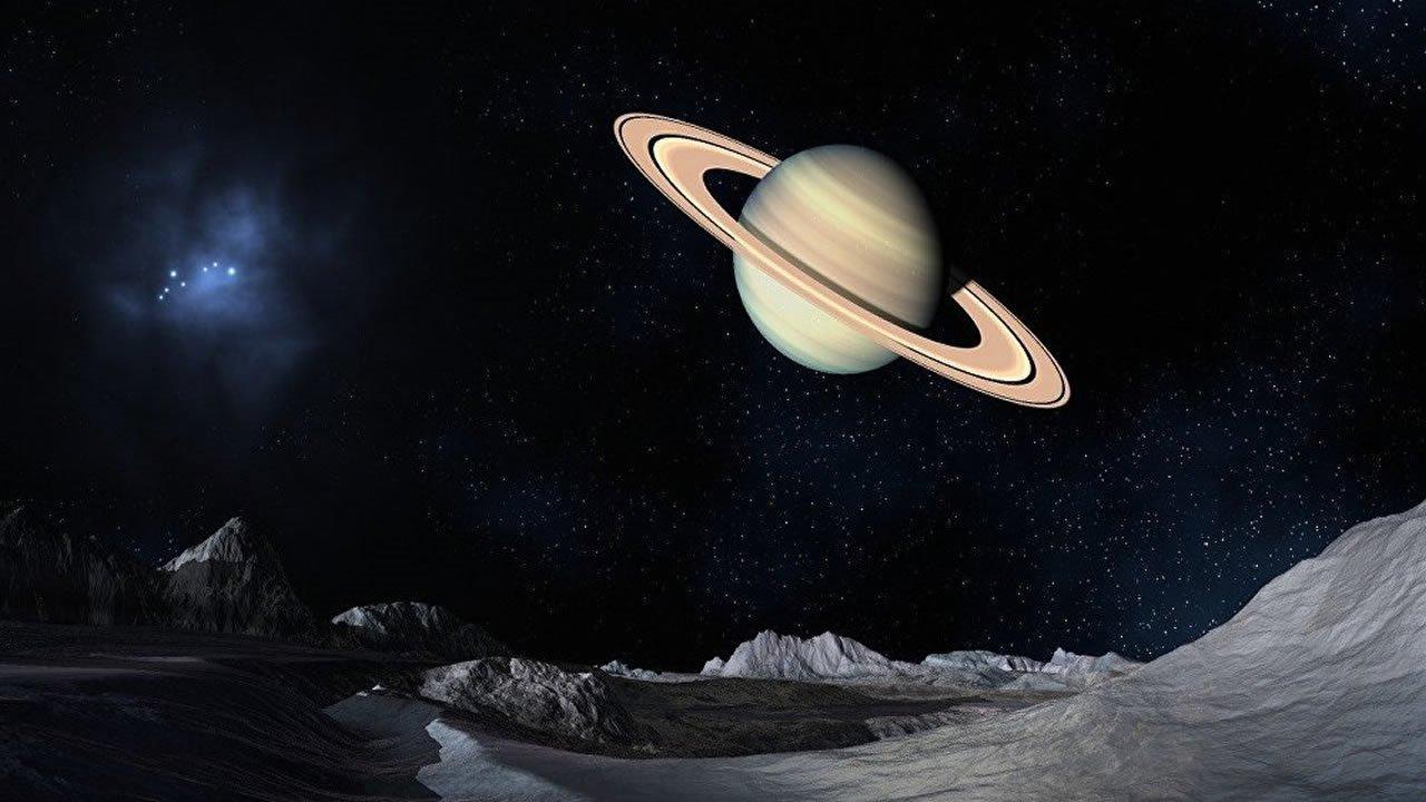 Sonda Cassini captura impresionante imagen del amanecer en Saturno