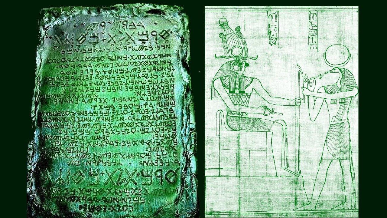 El Misterio de la Tabla Esmeralda ¿Esconde los Secretos del Universo?