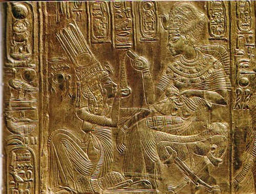 Tutankhamon y Ankhesenamon