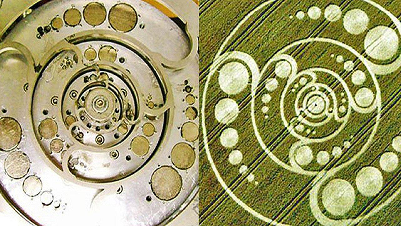 Científico italiano utiliza diseños de crop circles para crear motores magnéticos