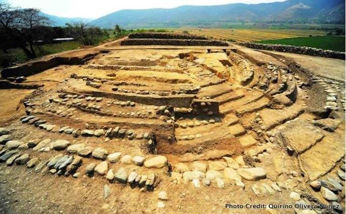 Yacimiento arqueológico de Montegrande, Perú.