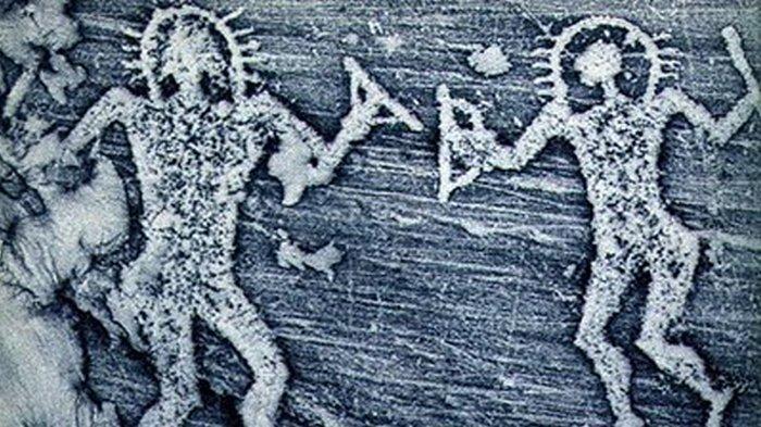 Pinturas rupestres descubiertas en italia sugieren una
