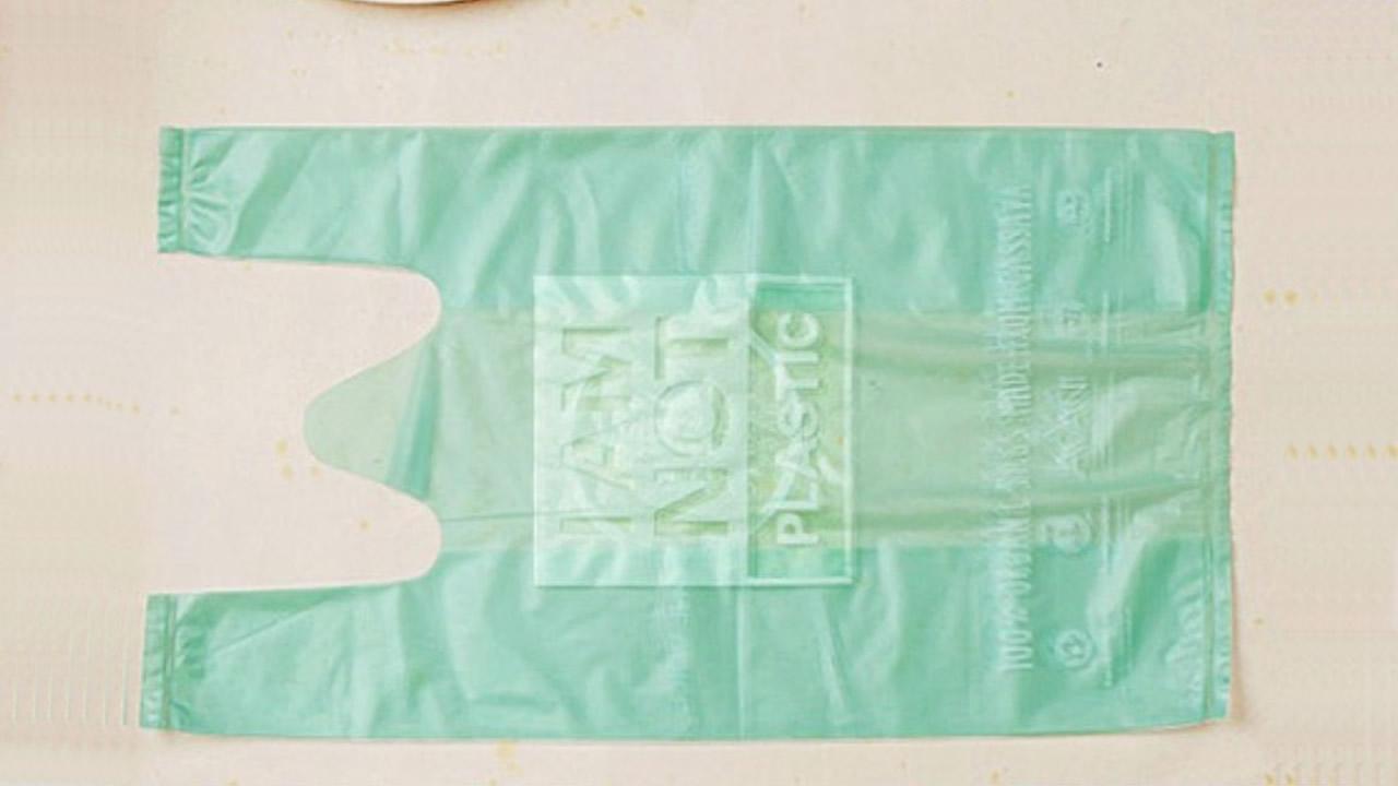 Gran invento: Bolsas hechas de yuca al llegar al mar se disuelven en el agua