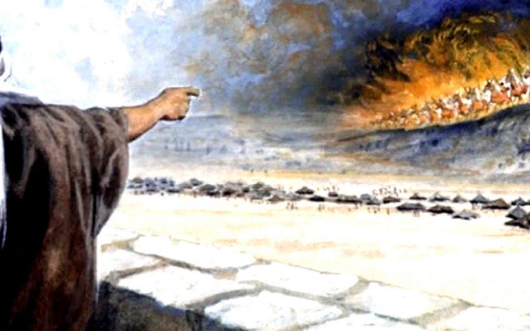 Carros de guerra entre las nubes: Posible avistamiento OVNI en el antiguo Israel ocupado por los romanos