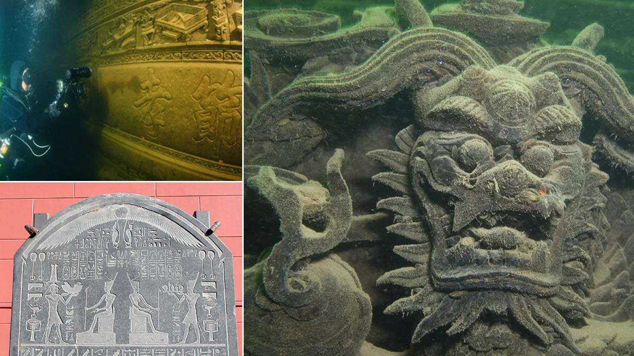 Míticas e impresionantes ciudades sumergidas por terremotos y tsunamis en el pasado