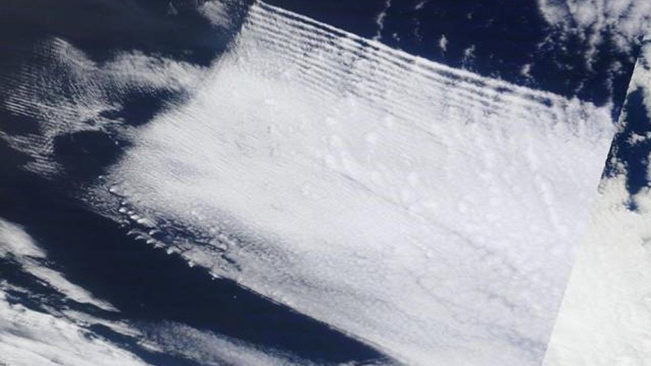 Evidencia de un Complot: Imágenes de satélite de NASA demuestran que nuestro clima es manipulado