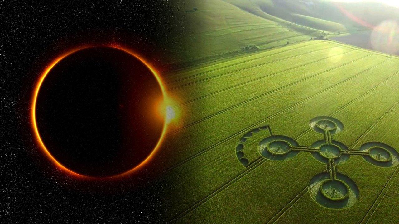 ¿Existe una relación entre los crop circles y los eclipses?