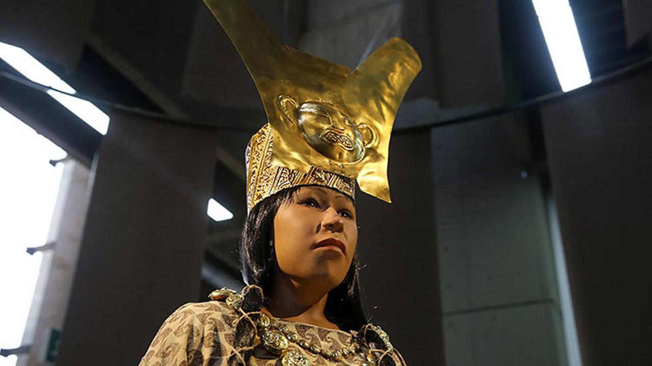 Dama de Cao: Reconstruyen rostro de antigua mujer poderosa que gobernó en Perú