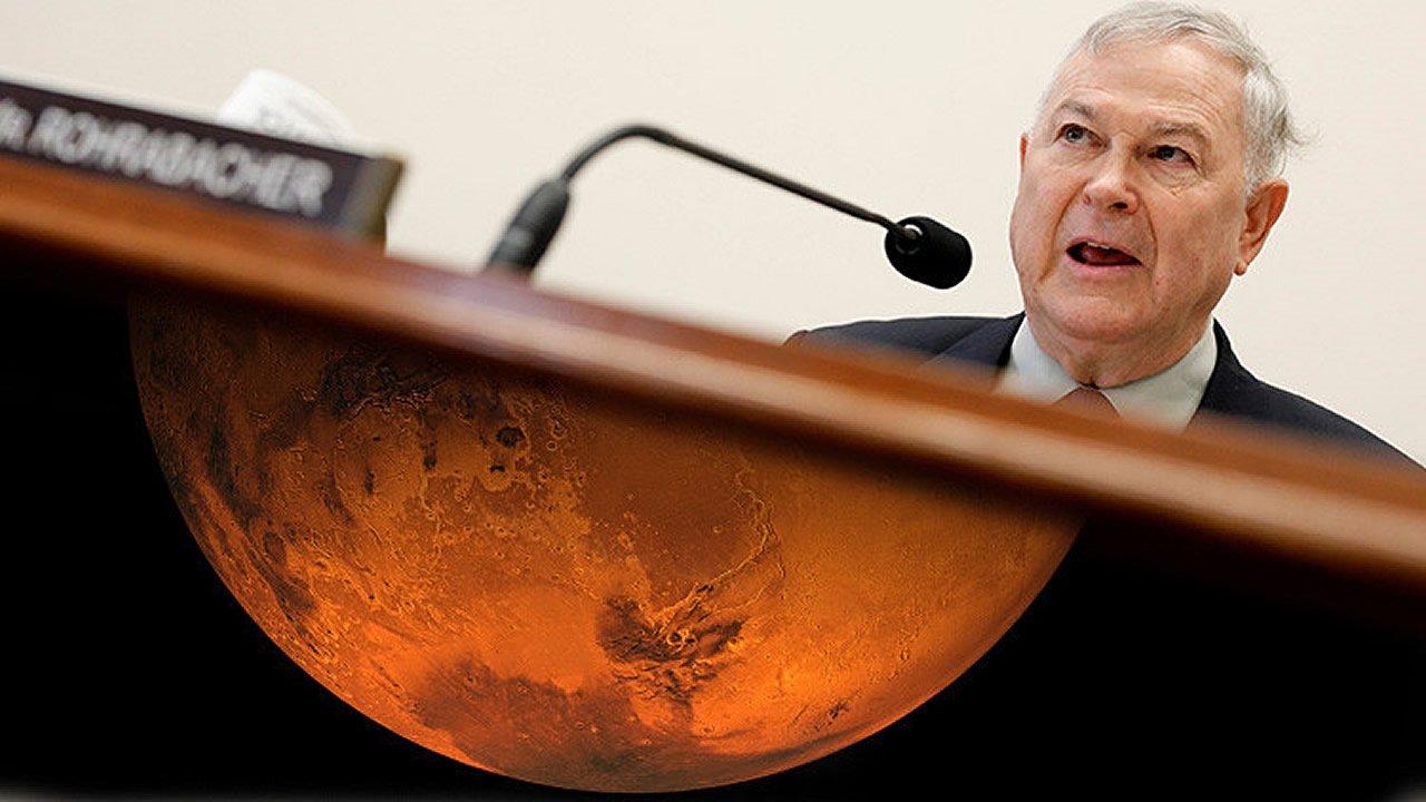 Congresista de EE.UU. pregunta a la NASA: «¿Había una civilización en Marte miles de años atrás?»