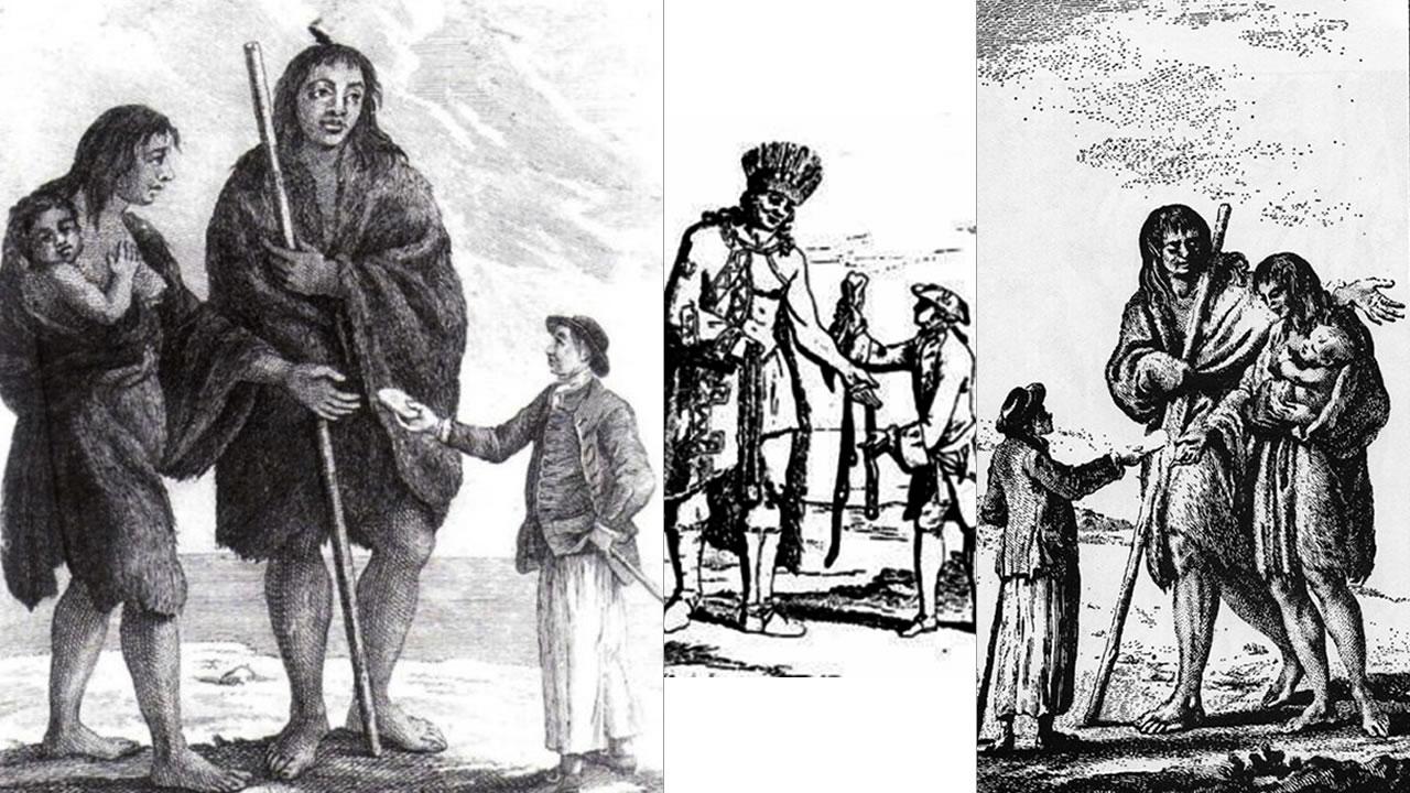 «Los Gigantes de América Del Sur» y su encuentro con los primeros colonos