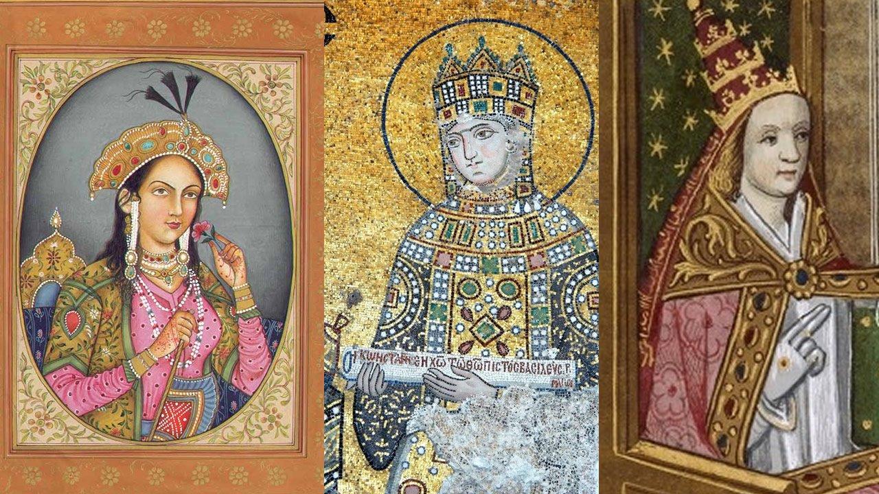 Cinco mujeres poderosas que gobernaron el mundo desde las sombras