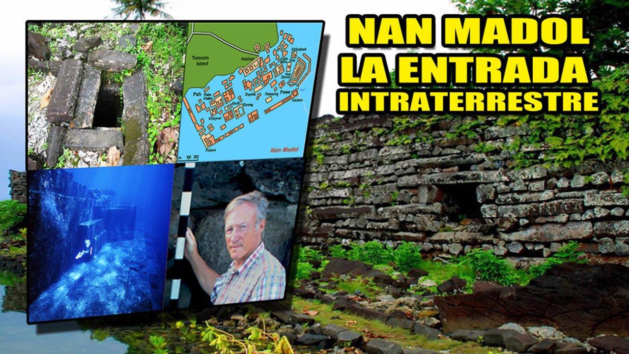 Las misteriosas ruinas de Nan Madol ¿Son la entrada a un mundo sumergido intraterrestre?