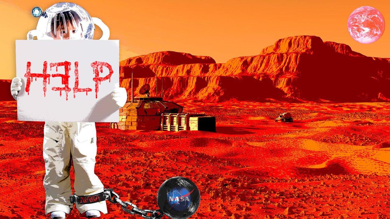 NASA niega poseer una colonia de esclavos en Marte