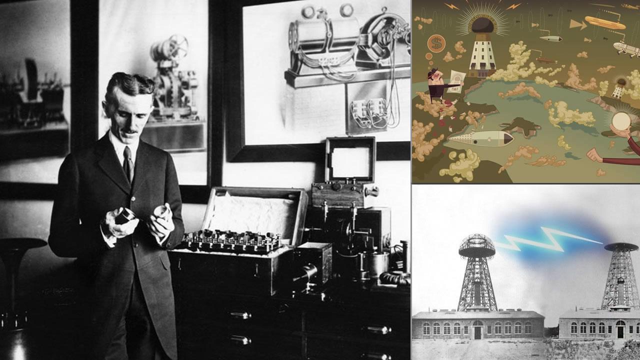 El proyecto inconcluso de la electricidad inalámbrica de Nikola Tesla
