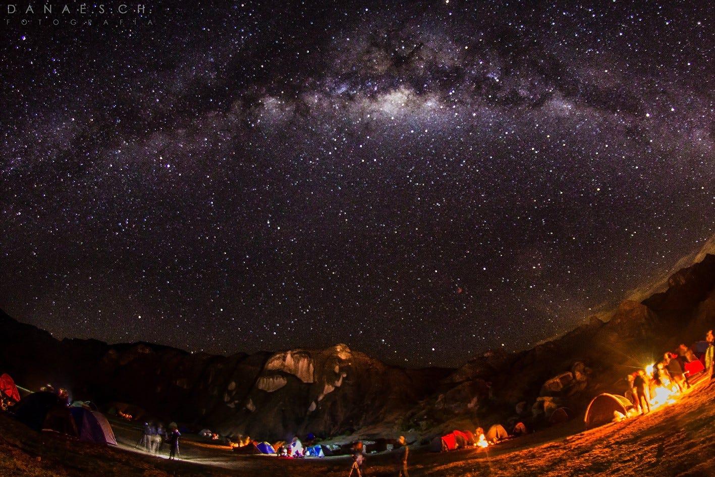 La Vía Láctea desde Marcahuasi.