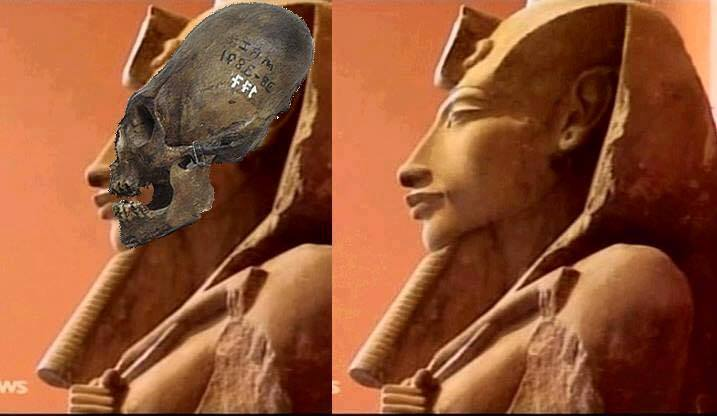 Muchas personas están convencidas de que Akenatón era un híbrido humano-extraterrestre