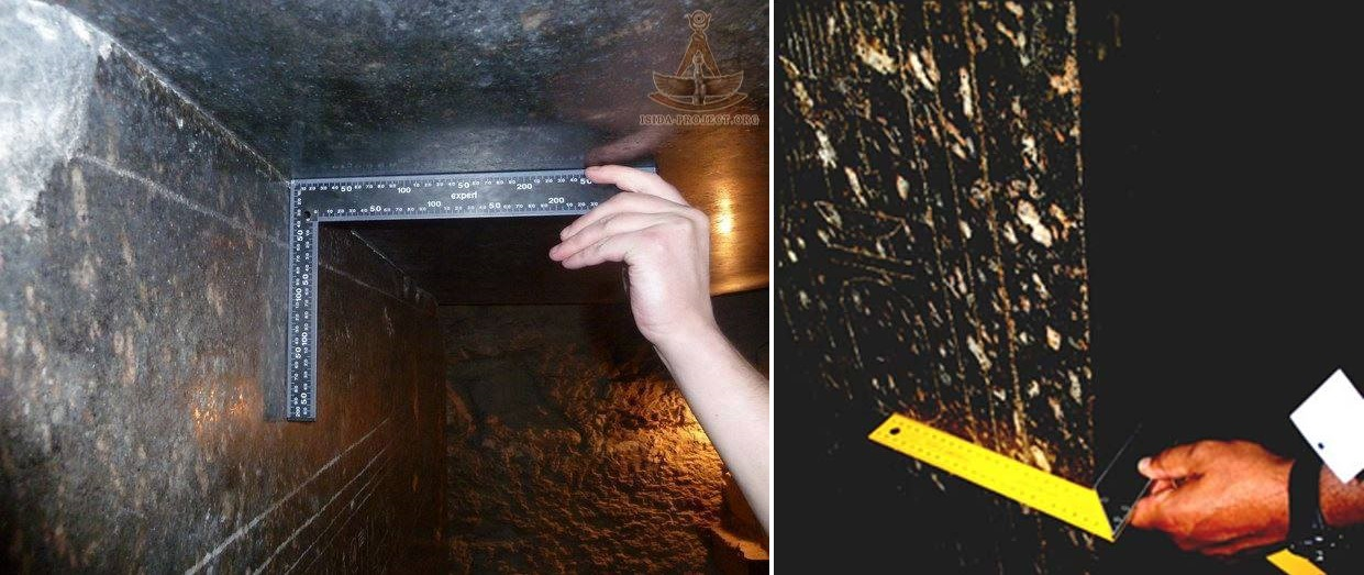 Asombrosa precisión de una de las cajas de Serapeum