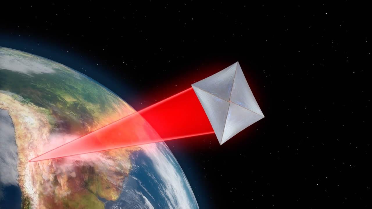 Las diminutas naves espaciales que llegarán a otra estrella ya están en órbita