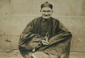 La única fotografía que se conserva de Li Ching-Yuen, «el hombre más viejo del mundo».