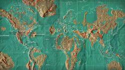 De esta manera podría ser el mapa del mundo luego del apocalipsis
