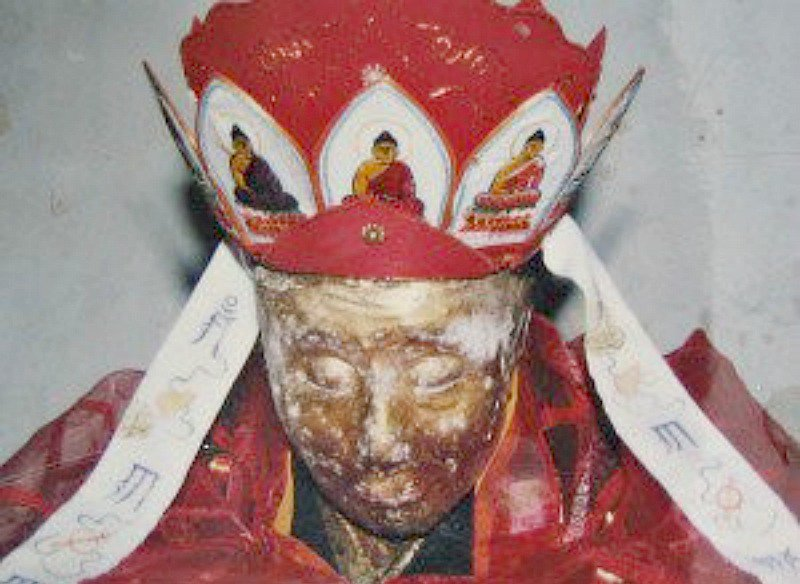 Estado que presenta actualmente el cuerpo de Liaozhen