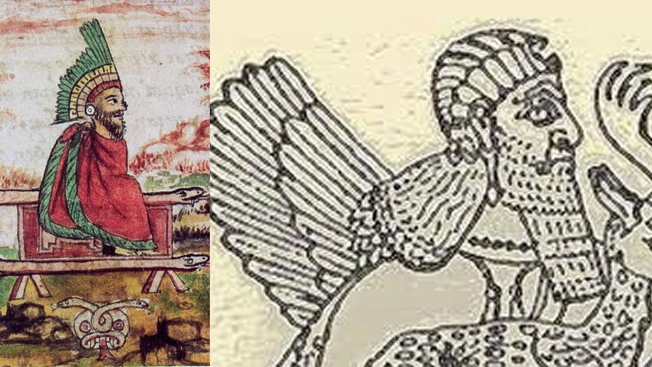 ¿Era Quetzalcoátl el dios sumerio Anu?